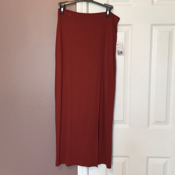 c7adf06c9f4 Forever 21 Dresses   Skirts - Rust colored maxi skirt